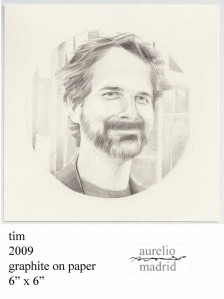 ...my portrait/drawing of Tim