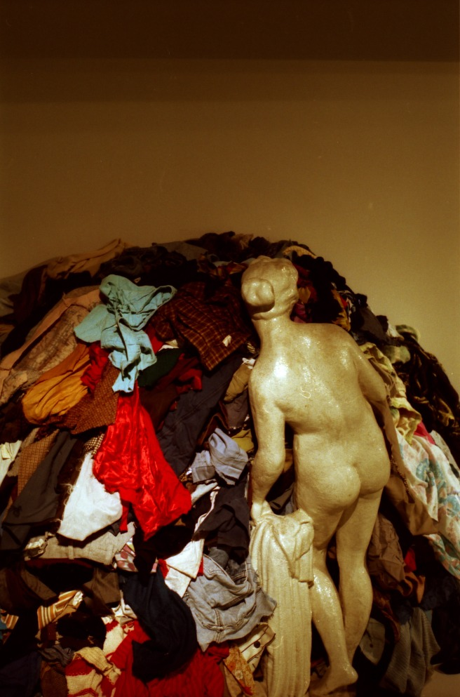 venus of the rags (michelangelo pistolleto, 1967, 74) photographed by zeno de cock
