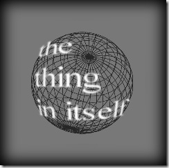 the thing in itself sphere