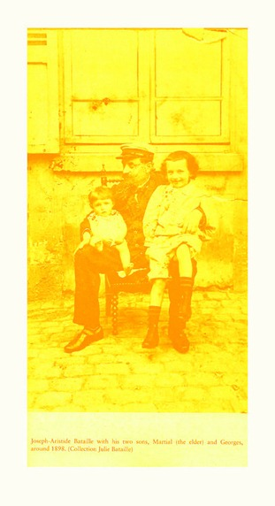 baby bataille with his father & older brother in 1898