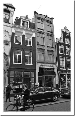 amsterdam black white