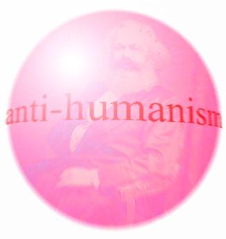pink antihumanist marx