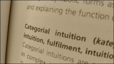 categorial intuition