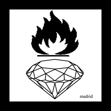 burning diamond madrid
