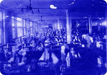 textile factory 1900